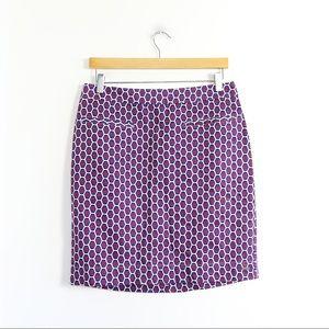 NWOT Hatley geometric print cotton skirt straight